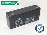 Leoch LP6-3.2 - 6v 3.2ah Alarm Battery